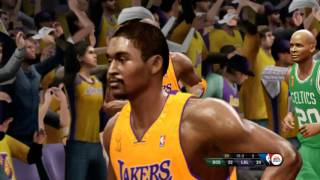 NBA Live 10 - Celtics vs Lakers - Finals Atmosphere