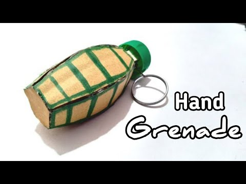 How to make a hand grenade from sutli bomb  diwali special bomb  cardboard grenade video for