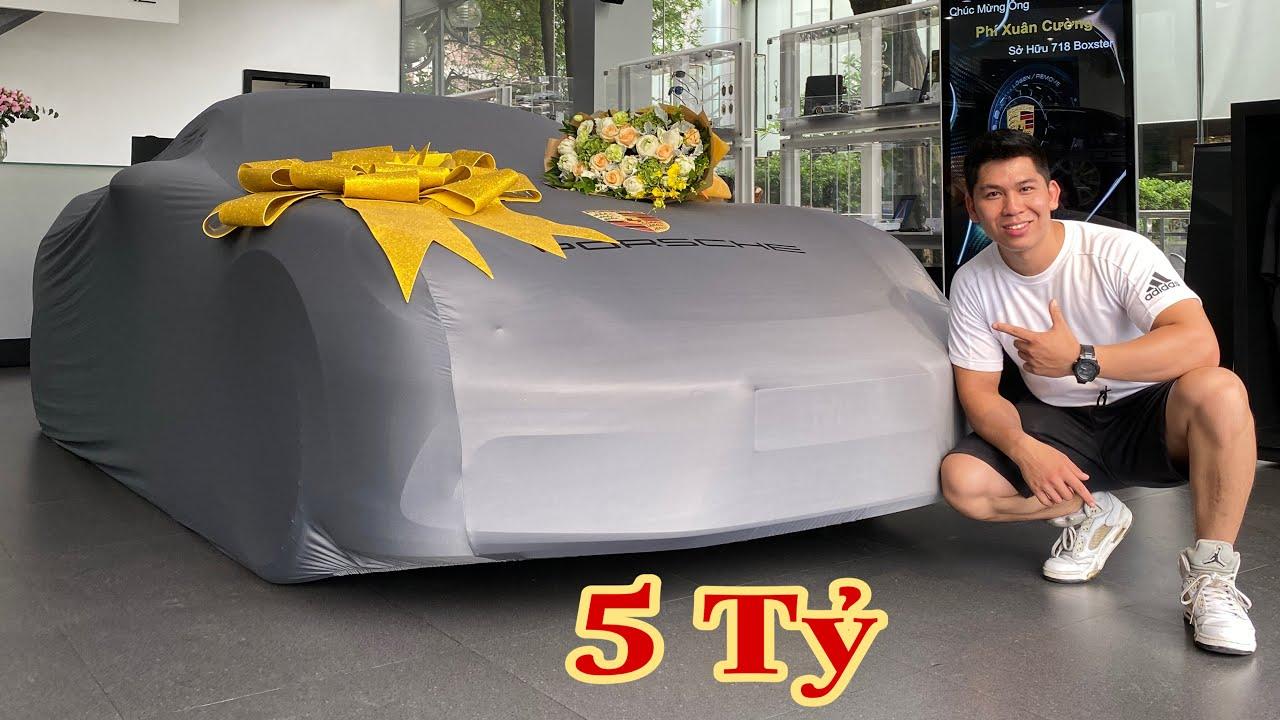 Tới Tài Tử Đi Mua Ô tô Porsche 718 Boxster Cùng Mr.C | Hưng NC | Sơn SS | Long Vũ.