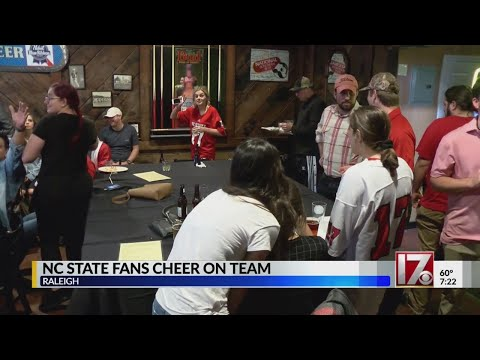 Wolfpack fans gather in Raleigh to cheer on NC State against Clemson