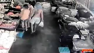 Weird Things Caught on Security Cameras HD CCTV Footage #2 360p