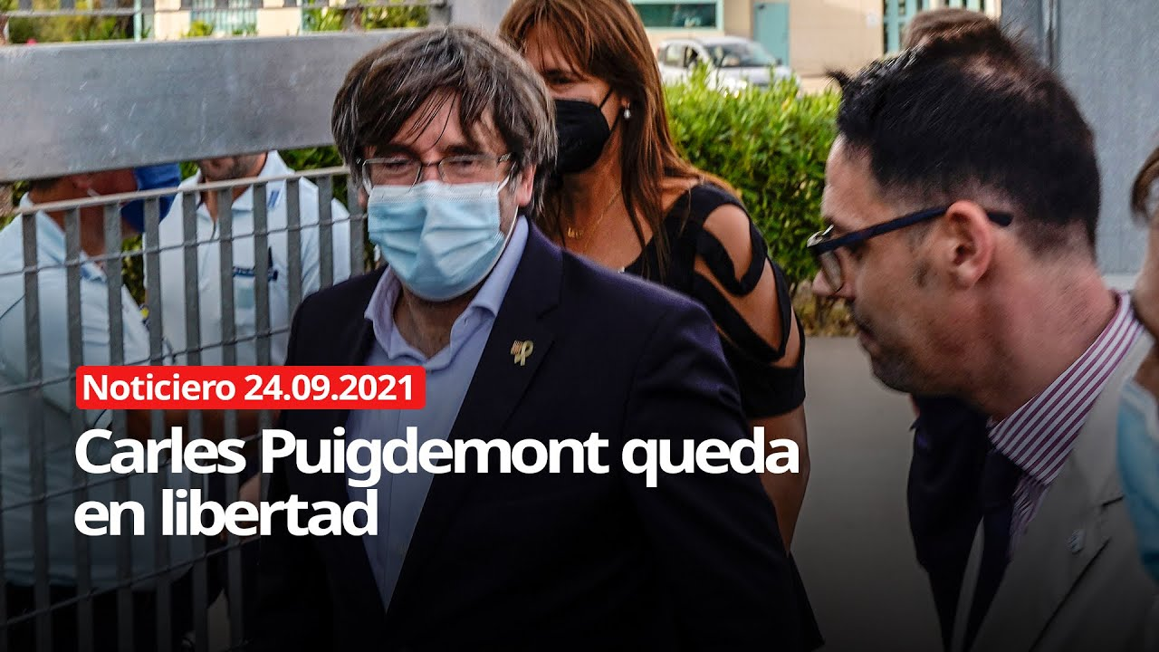 Download Carles Puigdemont queda en libertad - 24/09/2021