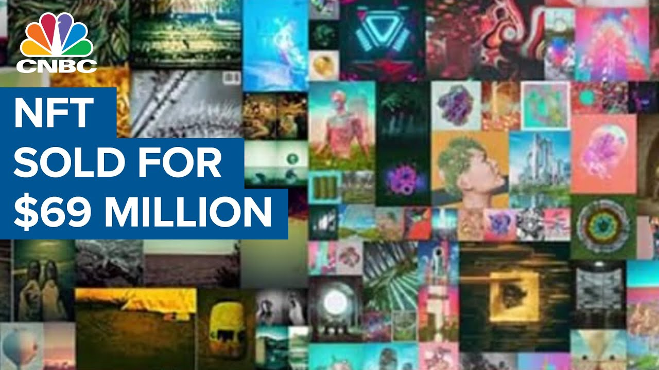 Beeple sells most expensive NFT ever for $69.3 million - YouTube