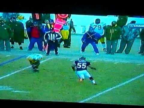 Lance Briggs Amazing Interception - NFC Championship Game