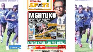 MAGAZETI ya leo Ijumaa October 12/2018/HABARI kubwa Mo Dewji kutekwa