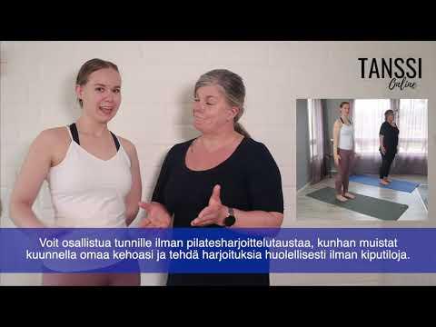 Video: Pilates tanssijoille