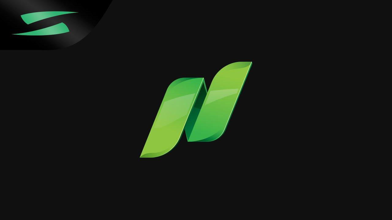 n design logo speedart youtube
