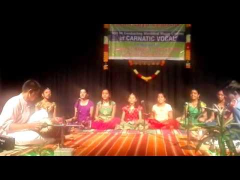 Shivani Performing At Shruthi Laya Samsthe