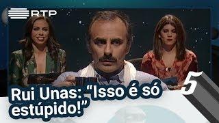 """Rui Unas: """"Isso é só estúpido!"""" - 5 Para a Meia-Noite"""