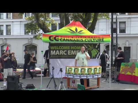 Marc Emery's Return to Vancouver Rally