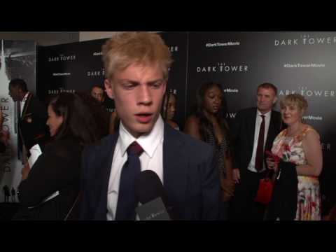 "Dark Tower NY Screening  Tom Taylor - ""Jake Chambers"" interview"
