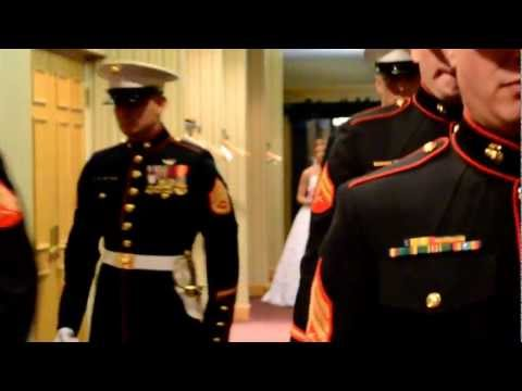 Wedding reception of Sgt. and Mrs. Brett (Lyndsee Pickens) Johnson