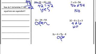 1 8 solutions to equations