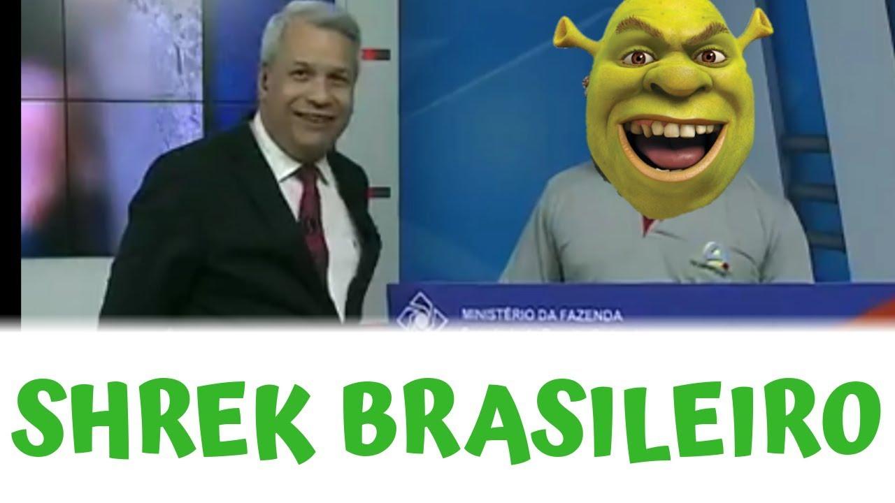 Contrate agora! SHREK BRASILEIRO