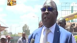 Business premises demolished :  facility is opposite Nyayo stadium