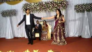 Jeene Laga hoon dance performance at Vinay & tania wedding reception