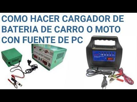Como hacer cargador de baterias de 12v para carro o moto - Cargador de baterias ...