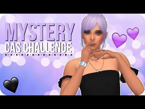 MYSTERY CAS CHALLENGE 💜 | Sims 4 Create A Sim