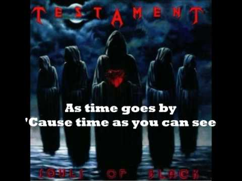 Testament  Souls of Black  with lyrics