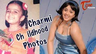 Jyothi Lakshmi Actress Charmi Childhood Pics Collection