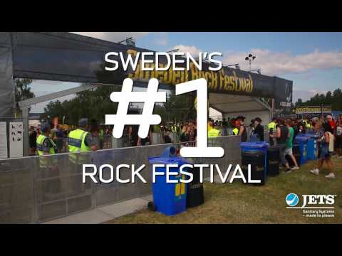 TEASER: Jets™ saves 2 million liters of water for Sweden Rock Festival