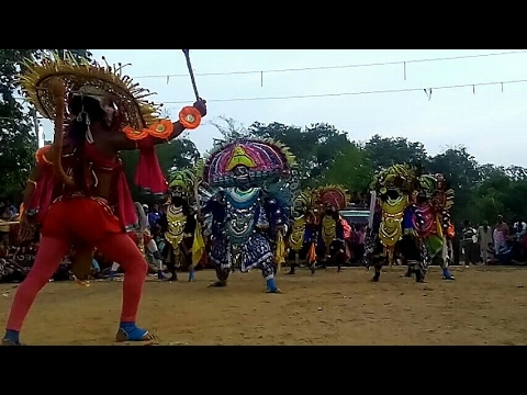 Wah! PURULIA CHHOU DANCE part of SRI...