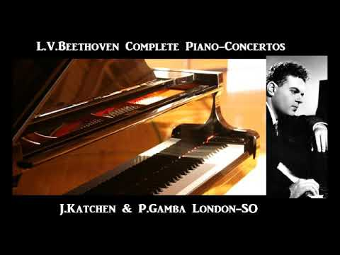 L.V.Beethoven Conplete Piano-Concertos [ J.Katchen & P.Gamba London-SO ] (1958~65)