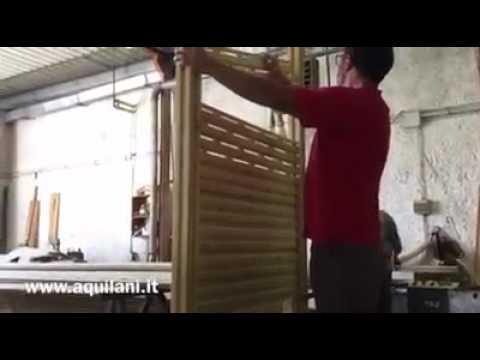 Sistema Modulare Doghe E Pannelli Divisori By F Lli Aquilani Youtube