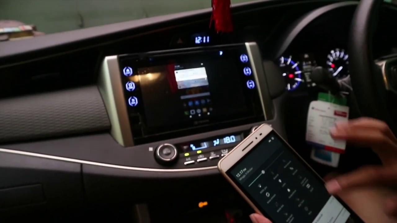 Cara Pengoperasian Audio All New Kijang Innova Grand Avanza Veloz 1.5 Tutorial Menggunakan Fitur Miracast Pada Headunit Toyota Tipe V Vlog1
