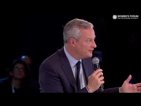 In conversation with Bruno Le Maire, Minister of Finance, France | #financialsystem