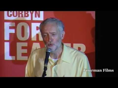 Jeremy Corbyn MP - Jeremy Corbyn for Labour Leader London Rally 03.08.15