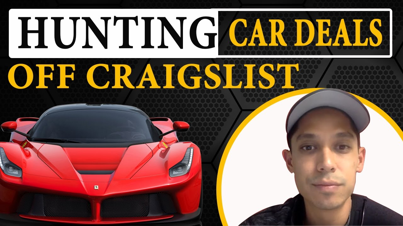 Hunting Car Deals Off Craigslist How To Buy And Sell