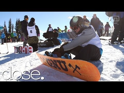 Hannah Teter Leads Special Olympics Snowboard Race At Aspen X Games