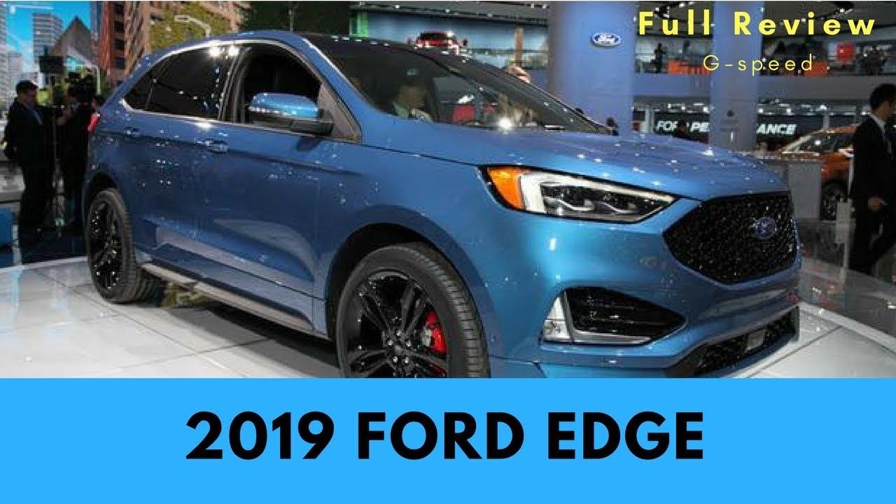 2019 ford edge exsterior and interior walkaroud detroit. Black Bedroom Furniture Sets. Home Design Ideas