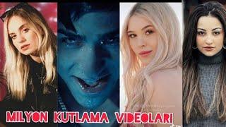 Tik Tok Fenomenlerinin Milyon Kutlama Videoları