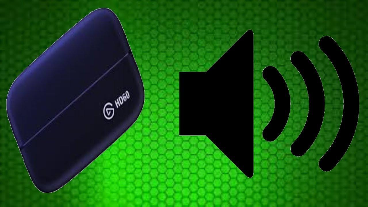 Elgato HD60 PC game audio fix!