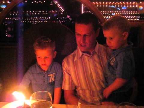Jacob Belair - december 2012 - birthday celebration on cruise ship