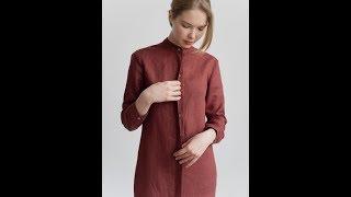 Видео-обзор #7 Платья-рубашки