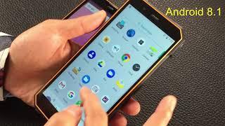 Защищенный смартфон Nomu S50 на Android 8.1 Oreo - видео