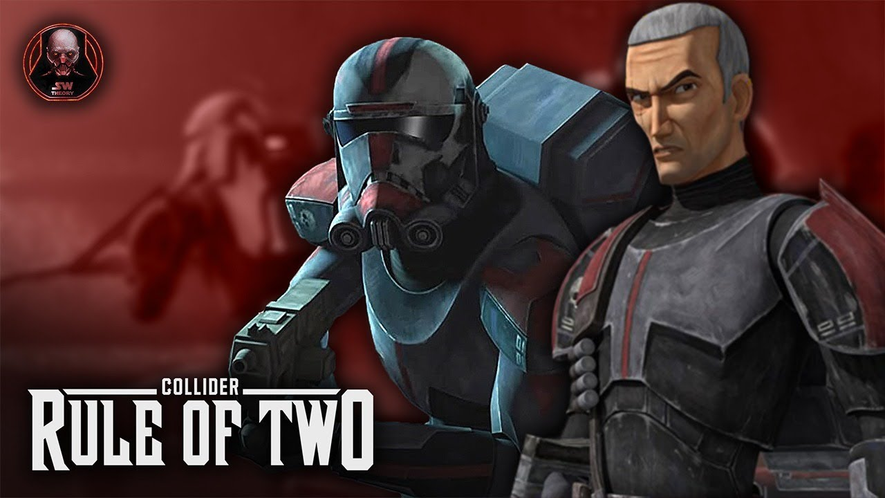 Bad Batch 2021 and Vader - Rule of Two