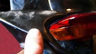 Cкутер как изготовить пластик св.руками .Ckuter how to make plastic