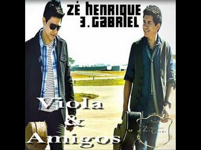 09. ARREPENDIDA - ZÉ HENRIQUE E GABRIEL VIOLA & AMIGOS CD 2012 #1