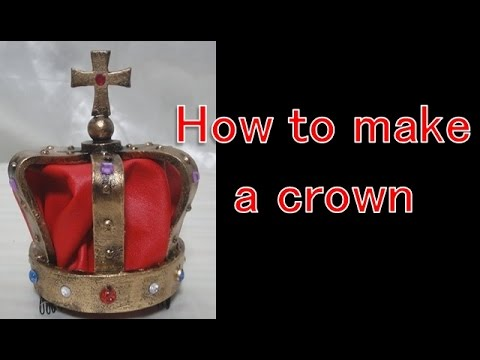 How to make a princess's crown [Cosplay prop tutorial]
