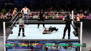 WWE 2K16 The Shield vs. The Shield