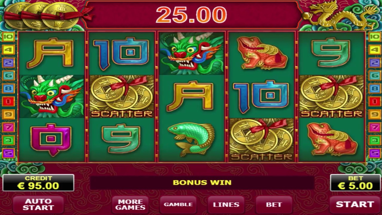 Good Win On Free Spin Lucky Coin Slot Machine - Max Bet Gaming