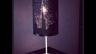 Starry Night Lamp Shade - Diy By Tanya Memme (as Seen On Home & Family)