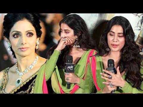 Jhanvi Kapoor Gets Emotional And Breaks Down Missing Mom Sridevi At Dhadak Trailer Launch