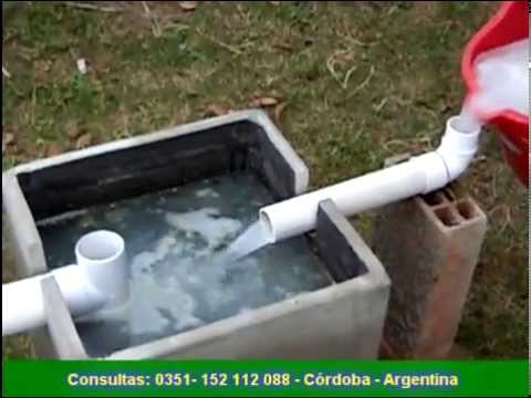 Recuperador de aguas grises youtube for Antorchas para jardin caseras