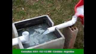 recuperador de aguas grises