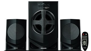 (HinDi) Philips MMS2030 2.1 Home Theatre Sound Test by AKS